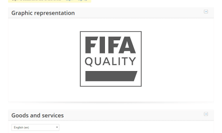 Fifa have applied for an EU Trademark for FifaQuality @Fifa Fifa Quality