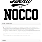 Fitness drink maker @nocco applies for trademark in the EU for TwentyByNocco