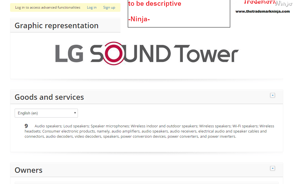 I wonder will @LG get this trademark for LG Sound Tower If Seen these kinds of applications refused LG SoundTower