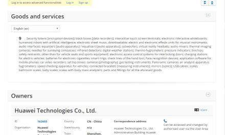 Another Huawei tradeamark application in the EU this time for HuaweiNova @Huawei