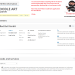 Drinks maker @redbull have applied for trademark in the EU for DoodleArt