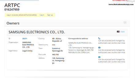 Heres the EU Trademark application for @Samsungs ARTPC Samsung