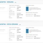 Modern Familys @SofiaVergara has applied for two trademarks in the EU Vergara