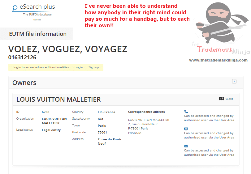 Bag maker is that underselling it a bit <a href=http://twitter.com/LouisVuitton target=_blank rel=nofollow data-recalc-dims=1>@LouisVuitton</a> has applied for another trademark LouisVuitton