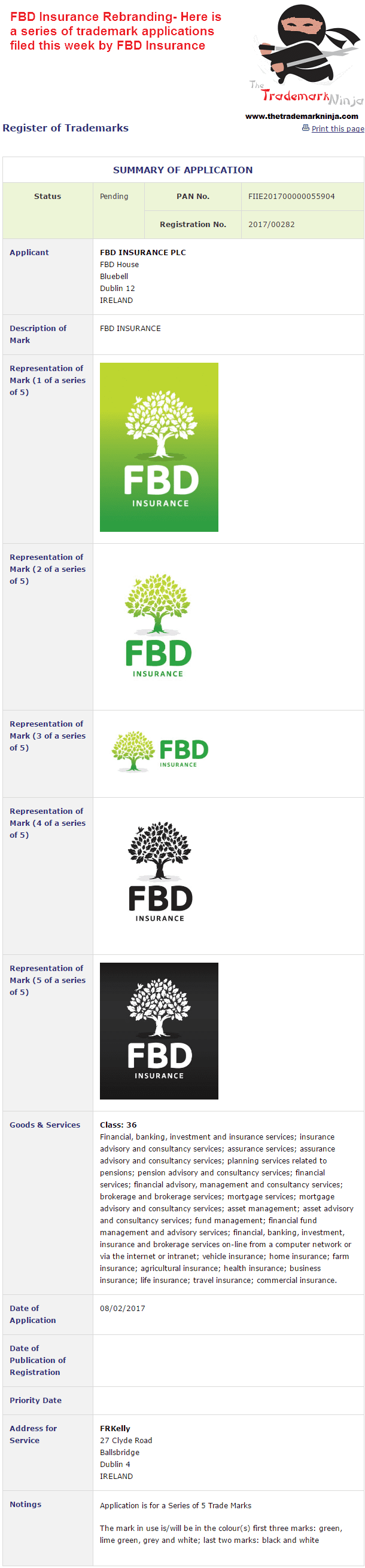 FBD Insurance New Logo As Part Of Corporate Re-brand