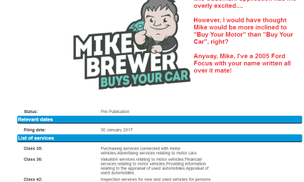 Good News everybody @mikebrewer wants to buy YOUR car