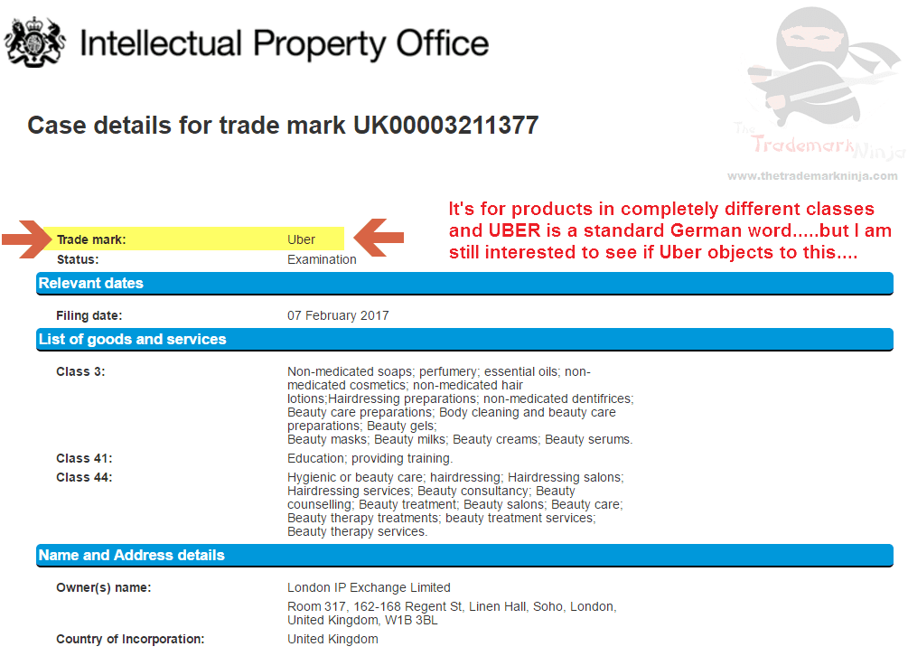 This is a potentially interesting trademark application for Uber <a href=http://twitter.com/Uber target=_blank rel=nofollow data-recalc-dims=1>@Uber</a> TrademarkUK