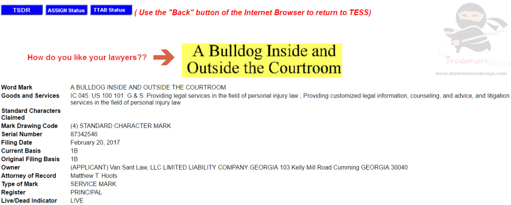 Van Sant Law applies for registration of this Bullish trademark Lawyered