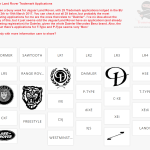 29 Trademark Applications filed by @Jaguar @LandRover in the last week including Daimler PType TTpye Jaguar LandRover