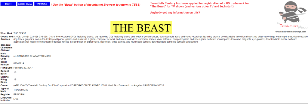 Anybody have any information on TheBeast from <a href=http://twitter.com/20thcenturyfox target=_blank rel=nofollow data-recalc-dims=1>@20thcenturyfox</a> Fox