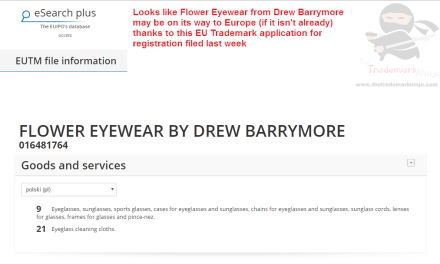 Looks like @FlowerBeauty Eyewear by @DrewBarrymore could be heading to Europe FlowerEyewear DrewBarrymore FlowerBeauty