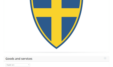 Looks like the swedish football team might have a new logo Sweden Svenska