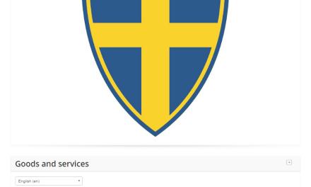 Looks like the swedish football team might have a new logo Sweden Svenska