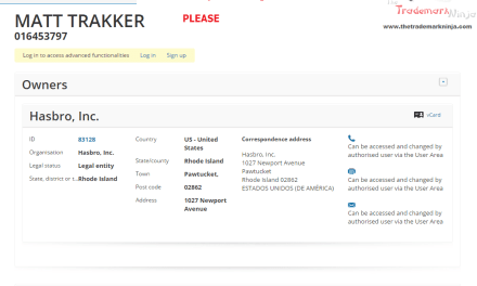 M M M M M M M MASK @Hasbro applies for EU trademark for MattTracker MaskMovie Venom