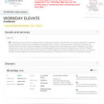 You Raise Me Up @Workday files EU trademark application for Elevate Workday