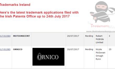 Trademark Ireland MotionScent Ornico Trademarks TrademarkIreland
