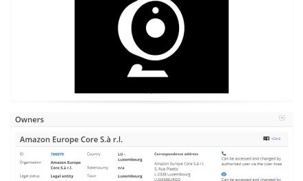 EUTM – Amazon Applies for EU Trademark for their Cloud Cam logo #CloudCam #AmazonCloudCam #Trademark