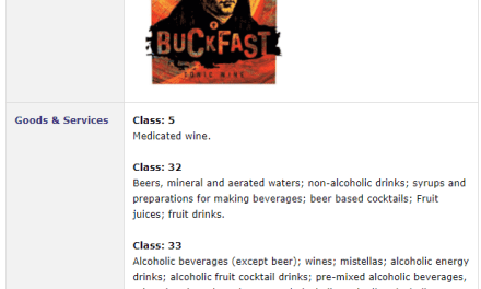 New Buckfast Logo – Is this a new logo? It has just been applied for as a trademark in Ireland