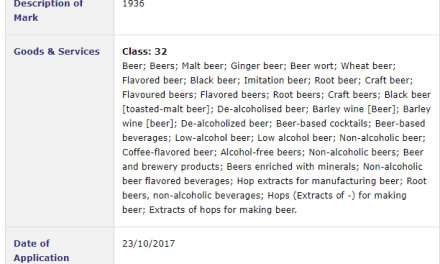 Trademark Ireland – 1936 Beer coming soon from the Beer Office #1936 #Beer #Trademark