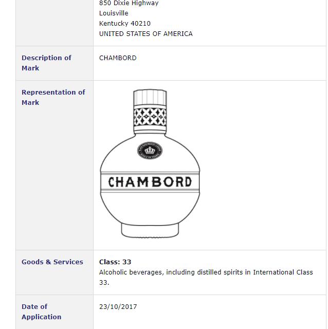 Trademark Ireland – Irish trademark application for Chambord bottle #Trademark #TrademarkIreland
