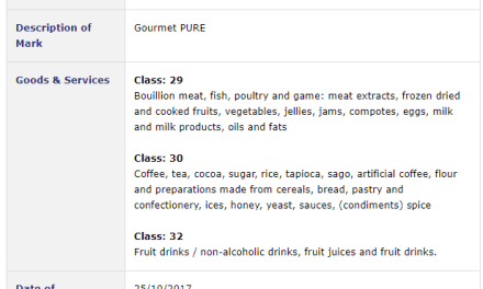 Trademark Ireland – Trademark application for GourmetPure filed with Irish Patents Office #TrademarkIreland