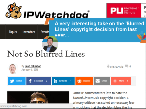 Blurred Lines An interesting take on the Blurred Lines from a musician lawyer #BlurredLines #Copyright