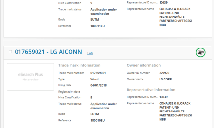 LG Icon New smarthpone from LG on the way according to todays trademark filings with the EUIPO LG LGICON