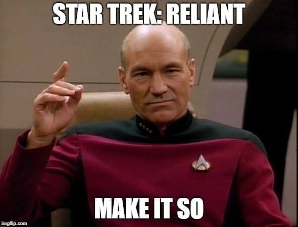 Star Trek Reliant – Patrick Stewart's New Star Trek Show's Name Revealed