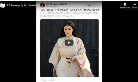Solutionwear by Kim Kardashian – New Kimono Range Coming Soon