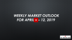Weekly Market Outlook For April 8 - 12, 2019