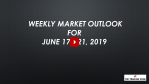 Weekly Market Outlook For June 17 - 21, 2019