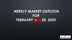 Weekly Market Outlook For February 24 - 28, 2020 - Markets Take the Stairs Up and the Elevator Down