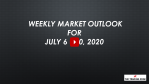 Weekly Market Outlook For July 6 - 10, 2020 - Closing Out Q2 and Setting Clear Q3 Goals