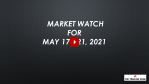 Market Watch For May 17-21, 2021 - Inflation Fears