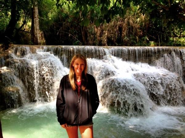 kuangsi waterfall luang prabang laos