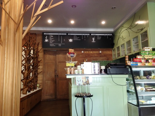 into the woods cafe chiang mai