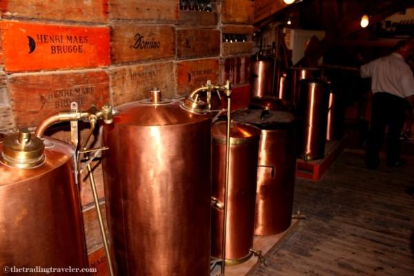 de halve maan brewery tour bruges