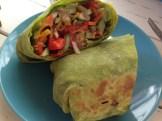 food 4 thought veggie hummus wrap