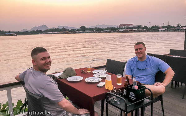 kanchanaburi floating restaurant