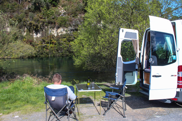 cost of traveling new zealand by camper van