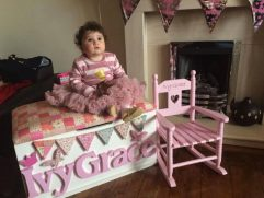 Ivy Grace Toy Box and Rocking Chair Set