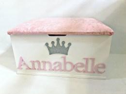 Annabelle in Pink Glitter