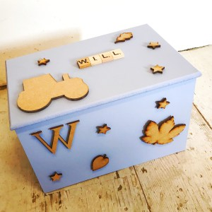 personalised boys keepsake box