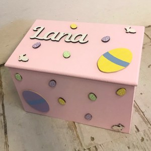 personalised easter box