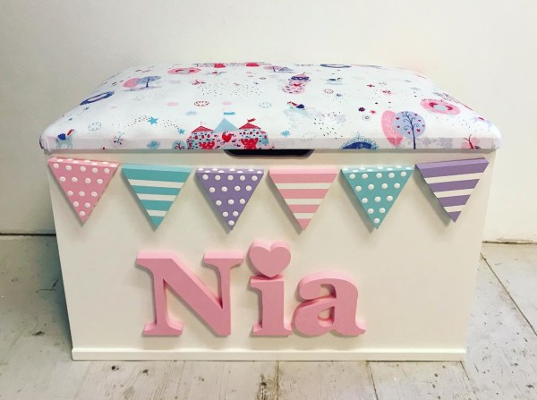 personalised princess toy box