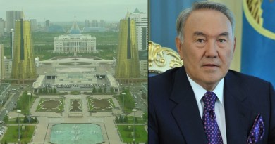 Nursultan Nazarbayev renames Kazakhstan's capital city
