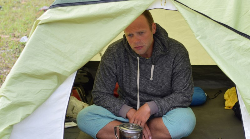 I live in a tent