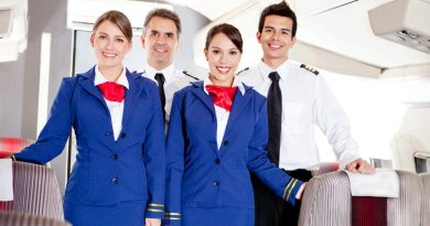 Report: Entire cabin crew – plus the pilot – GOT IT ON last night