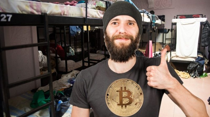 Man paying $6 a night for 16-bed dorm wants to talk to you about an exciting crypto investment opportunity