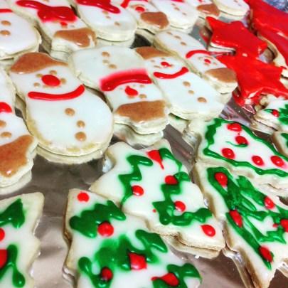 Plätzchen backen! Cookies from scratch!